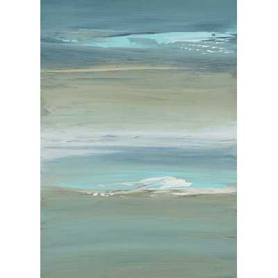 Enigmatic Ocean Painting Print on Wrapped Canvas - Wayfair