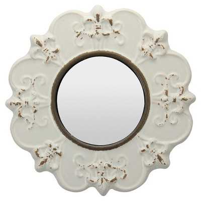 CKK Decorative Wall Mirror - Off-white - Target
