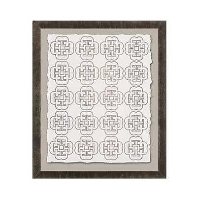 Linear Design Art - 25x21 - Framed - Print IV - Ballard Designs