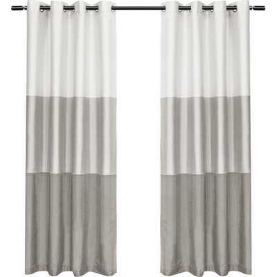 Newton Light Filtering Curtain Panels (set of 2) - AllModern