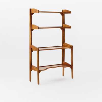 Lars Mid-Century Bookshelf - Wide - West Elm