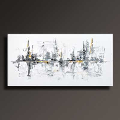 Large ORIGINAL ABSTRACT Painting  on Canvas - unframed - Etsy