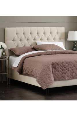 CUSTOM KENSINGTON UPHOLSTERED BED - queen - Home Decorators