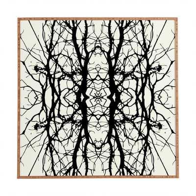 Tree Silhouette Framed Painting Print - AllModern