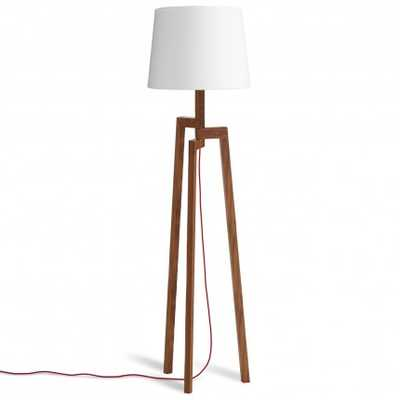 Stilt Floor Lamp - Walnut - BluDot