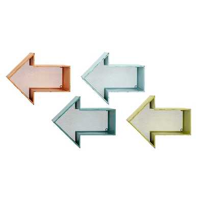 Mavelle 4 Piece Arrow Shelf Set - AllModern