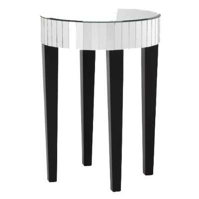 Mirrored Round Living Room Accent Table - Target