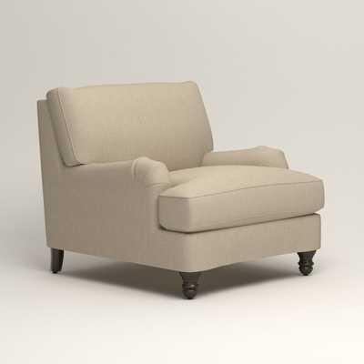Montgomery Slipcovered Chair - Birch Lane