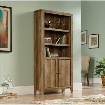 "Dakota Pass Library 71.1"" Standard Bookcase with Doors - Wayfair"