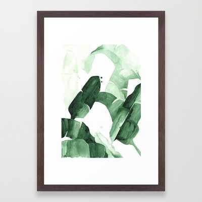ART PRINT/ CONSERVATION WALNUT SMALL-FRAMED - Society6