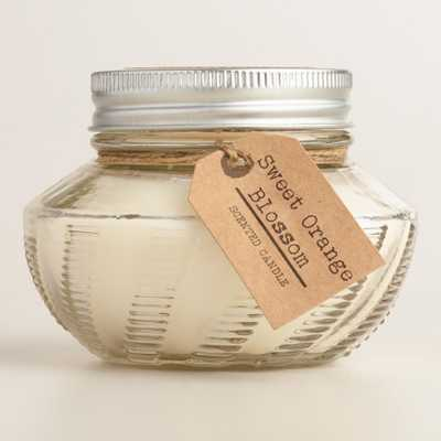 Orange Blossom Amelia Filled Jar Candle - World Market/Cost Plus