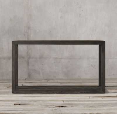 HERRINGBONE CONSOLE TABLE - RH