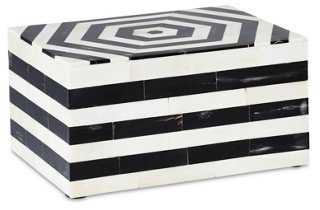 Hexagonal Bone-Inlay Box - One Kings Lane