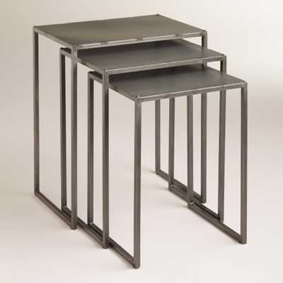 Ashton Nesting Tables, Set of 3 - World Market/Cost Plus