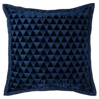 "Fieldcrest® Luxury Velvet  26""L x 26""W Decorative Pillow -Polyester  Insert - Target"