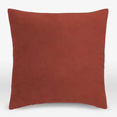 Upholstery Fabric Pillow Cover - Performance Velvet - West Elm