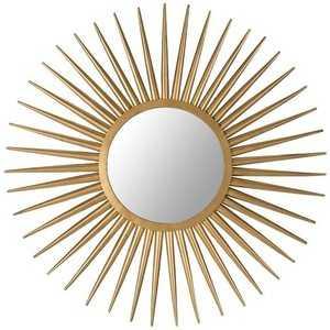 Sun Flair Mirror - Domino