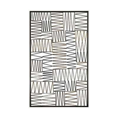 Heavy Metal Wire Work Wall Panel - Tressle