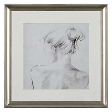Harmony 3 - 21.25''W x 21.25''H - Silver frame - With mat - Z Gallerie