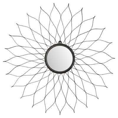Oberon Wall Mirror - Rustic - Wayfair