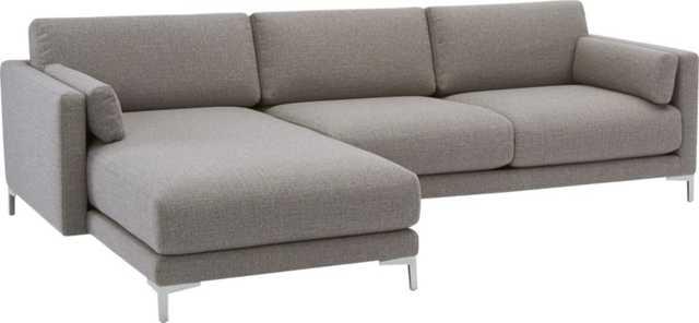 District 2-piece sectional sofa - Vibe Smokey - CB2