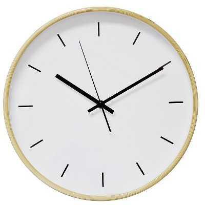 "Wall Clock White 12"" - Target"