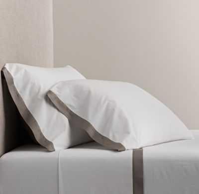 ITALIAN BOLD BORDER COTTON SHEET SET - RH