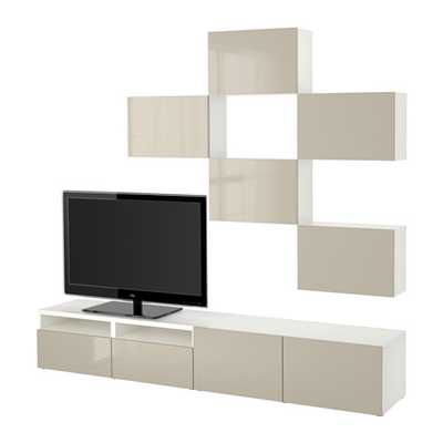 BESTÃ… TV storage combination - Ikea