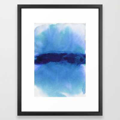 """FRAMED ART PRINT/ VECTOR BLACK MEDIUM (GALLERY) (20"""" X 26"""") - Society6"""