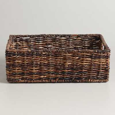 Madras Storage Baskets- Large - World Market/Cost Plus