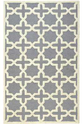 CHESHIRE RUG - Silver - 9x12 - Home Decorators