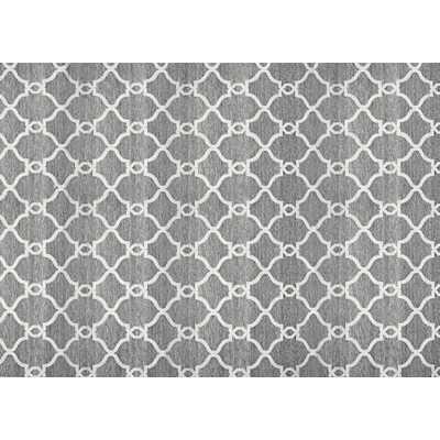 Silky Dark Gray Area Rug - Wayfair
