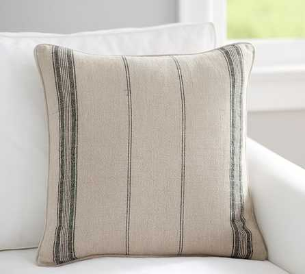 """DIEGO STRIPE PILLOW COVER- 20"""" sq- insert sold separately. - Pottery Barn"""