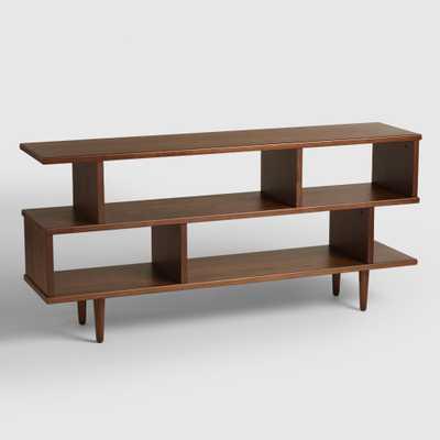 Walnut Brown Wood Ashlyn Bookshelf - World Market/Cost Plus