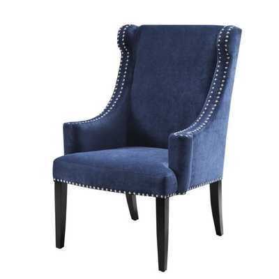 Madison Park Lucy High Back Wing Chair - Overstock