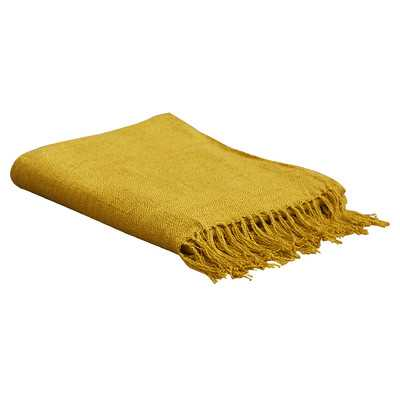Tilda Throw Blanket - Gold - Wayfair