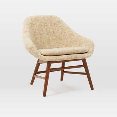 Mylo Chair - Dandelion, Vintage Crosshatch - West Elm