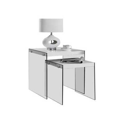 2 Piece Nesting Table Set - AllModern