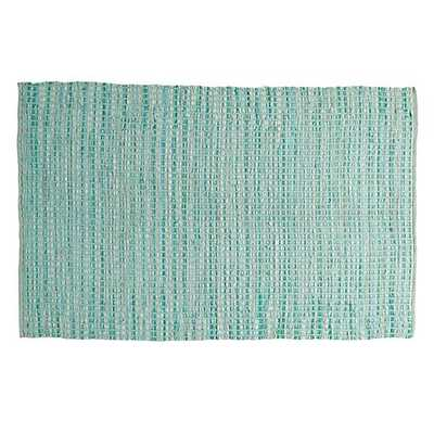 8 x 10' Mint Rags to Riches Rug - Land of Nod