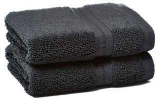 S/2 Zero-Twist Wash Towels - One Kings Lane