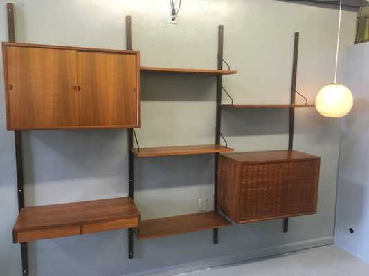 Danish Teak Wall Unit - Etsy