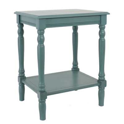 Marjorie End Table by Andover Mills - Sea Green (Blue-ish Green) - Wayfair