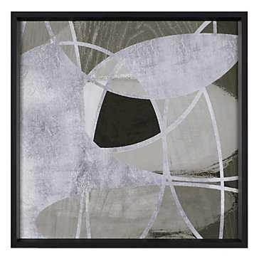 Silver Eclipse - 25,5x25,5 - Framed - Z Gallerie