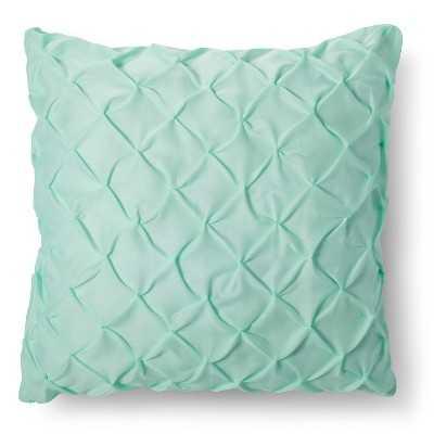 "Twist & Tuck Decorative Pillow - Green - 26""x26"" - Polyester Fill - Target"