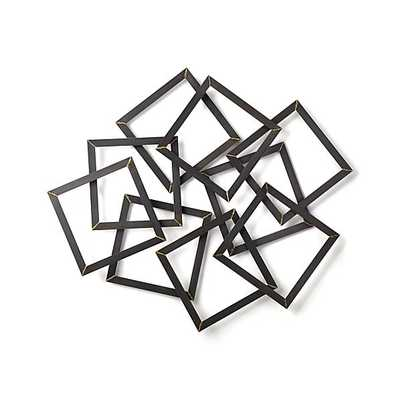 Multi Squares Wall Art - Crate and Barrel