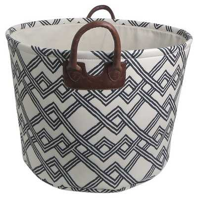Round Fabric Basket with Handles - Target