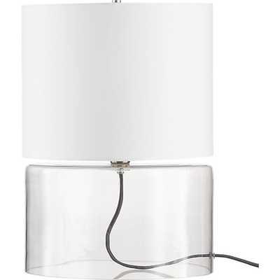 Greyline table lamp - CB2