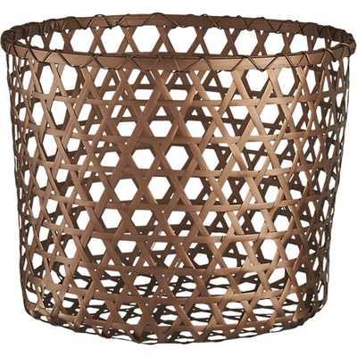 copper large basket-Large - CB2