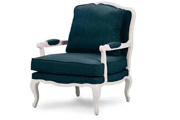 FABRIC FRENCH ACCENT CHAIRONE (1) ACCENT CHAIR - Lark Interiors