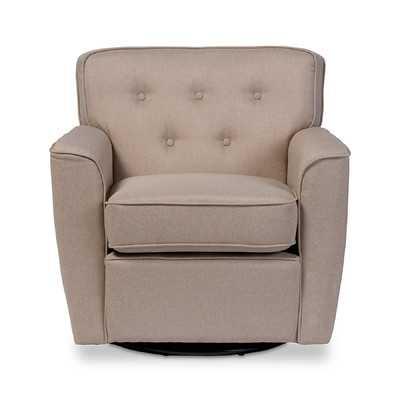 Baxton Studio Retro Upholstered Lounge Chair - Wayfair